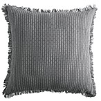 DKNYpure Stripe European Pillow Sham in Grey