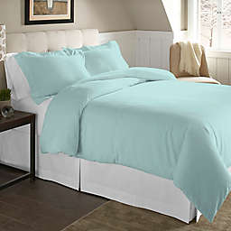 Pointehaven 200 GSM 2-Piece Twin/Twin XL Duvet Cover Set in Lagoon