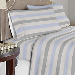 Pointehaven 175 GSM Savannah Flannel Twin XL Sheet Set in Beige