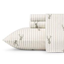 Eddie Bauer® Deer Lodge Flannel Sheet Set