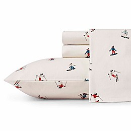 Eddie Bauer® Ski Slope Flannel Sheet Set