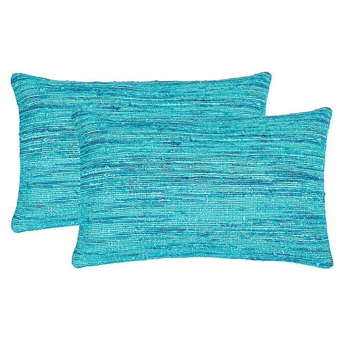 Alternate image 1 for Safavieh Eloise Oblong Throw Pillows (Set of 2)