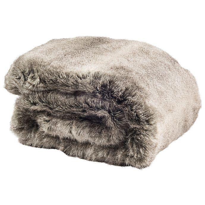 Alternate image 1 for Safavieh Wavy Luxe Throw Blanket
