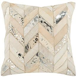 Safavieh Herringbone Square Throw Pillow