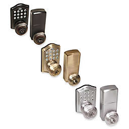 Honeywell Electronic Entry Knob Door Lock with Keypad