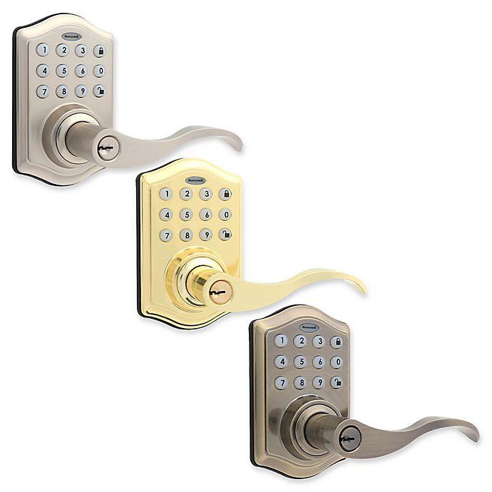 Alternate image 1 for Honeywell Digital Door Hardware Lock