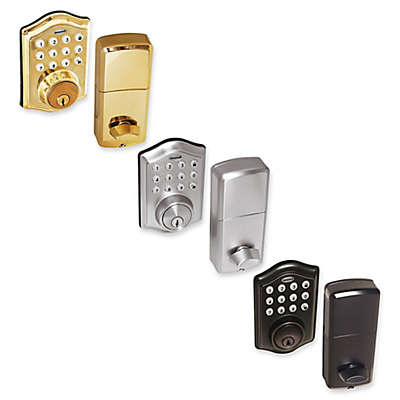 Honeywell Electronic Entry Deadbolt Door Lock with Keypad