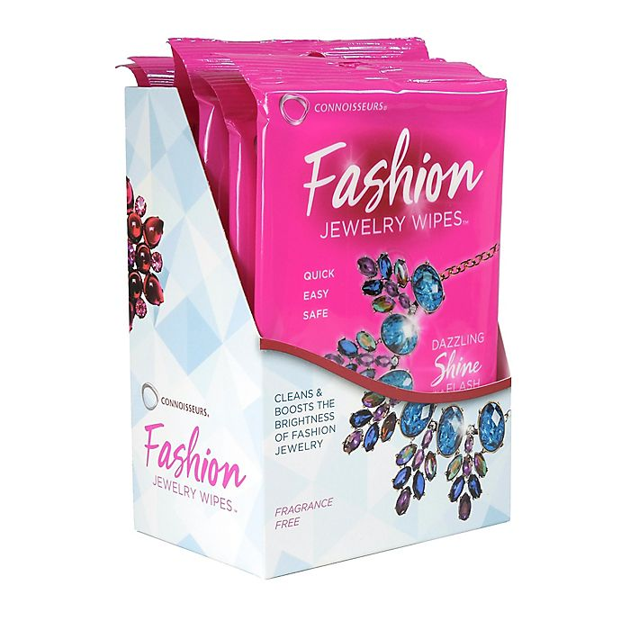 Alternate image 1 for Connoisseurs® 15-Pack Fashion Jewelry Wipes™