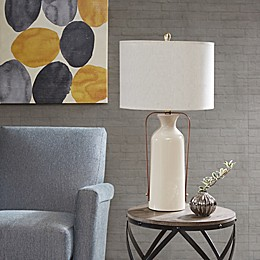 INK+IVY Chateau Table Lamp in Beige