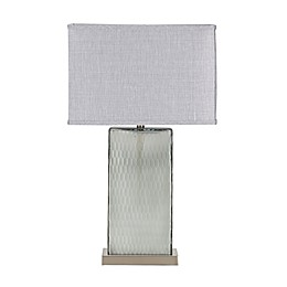 Madison Park Signature Honeycomb Table Lamp in Grey