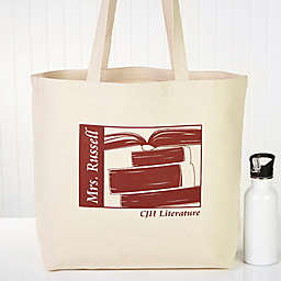 Teaching Professions Canvas Tote Bag