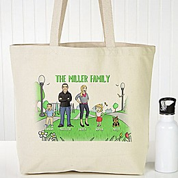 Character Collection Canvas Tote Bag
