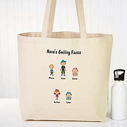 Character Collection Canvas Beach Tote Bag
