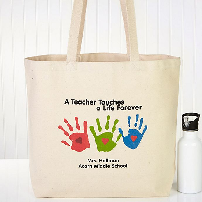 Life Teacher Canvas Beach Tote Bag