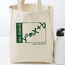 Teaching Professionals Petite Canvas Tote Bag