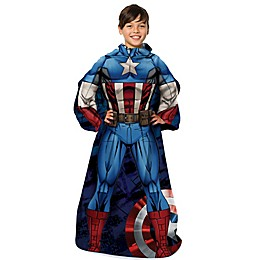 """Marvel® Captain America """"First Avenger"""" Youth Comfy Throw Blanket"""