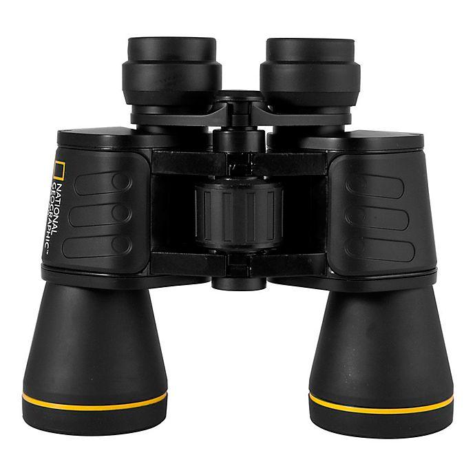 Alternate image 1 for National Geographic™ 10x50 Porro Binoculars