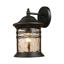 Landmark Lighting Madison Outdoor Sconces (Matte Black)