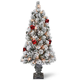 National Tree Company® Pre-Lit LED Snowy Bristle Pine Artificial Christmas Tree