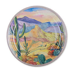 Desert Landscape Melamine Salad Plate