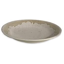 Valencia Serving Bowl in Cream