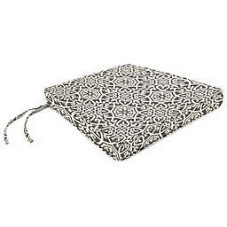 Print Box Edge Trapezoid Chair Cushion in Sunbrella® Fabric