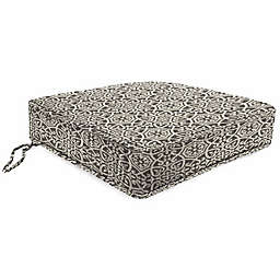 Print Tapered Boxed Edge Seat Cushion in Sunbrella® Fabric