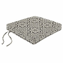 Print Boxed Chair Cushion in Sunbrella® Fabric