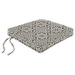 Print Boxed Chair Cushion in Sunbrella® Fabric
