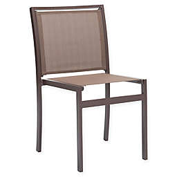 Zuo® Mayakoba Patio Dining Chair in Brown (Set of 2)