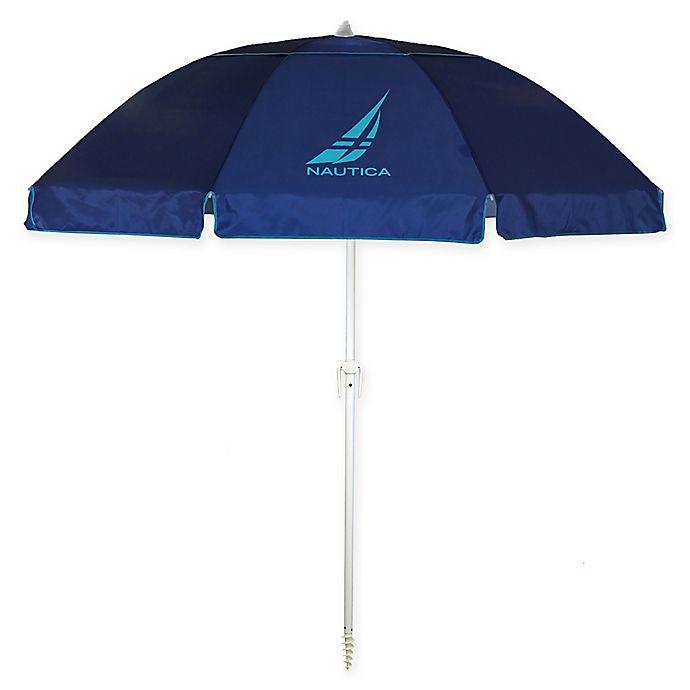 Alternate image 1 for Nautica® 7-Foot Beach Umbrella