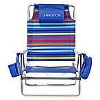 Nautica® 5-Position Beach Chair in Rainbow