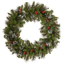 National Tree Company Crestwood Spruce 30-Inch Wreath