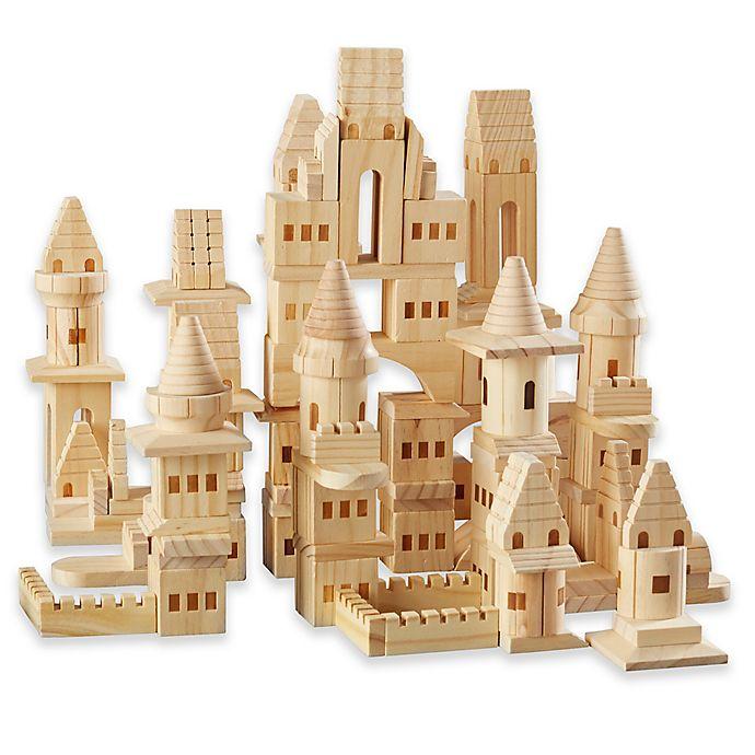 Fao Schwarz 75 Piece Toy Wood Castle Set Bed Bath Beyond
