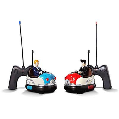 FAO Schwarz Remote Controlled Toy Retro Bumper Car Set