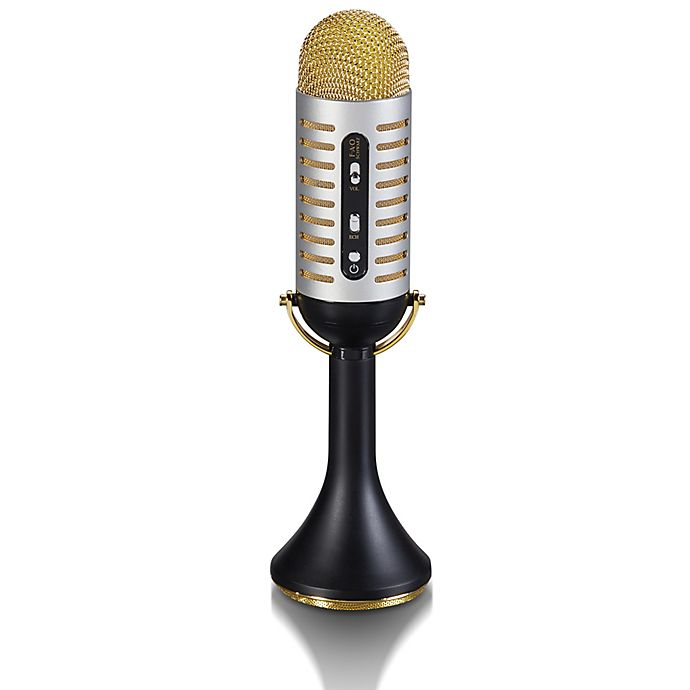 Alternate image 1 for FAO Schwarz Vintage Bluetooth-Enabled Musical Microphone Toy
