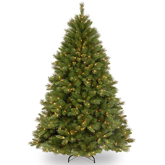 Alternate image 1 for National Tree Company 6-1/2-Foot Pre-Lit Winchester Pine Artificial Christmas Tree