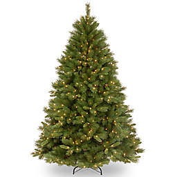 National Tree Company 6-1/2-Foot Pre-Lit Winchester Pine Artificial Christmas Tree