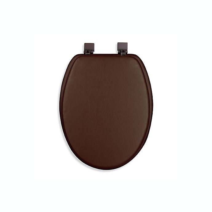 Ginsey Cushioned Elongated Toilet Seat Bed Bath And