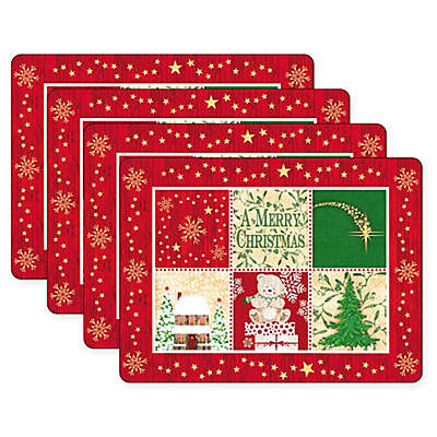 Pimpernel Christmas Blessing Placemats (Set of 4)