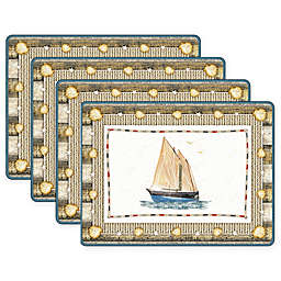 Pimpernel Coastal Breeze Placemats (Set of 4)