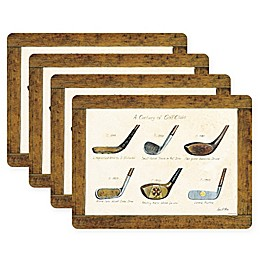 Pimpernel Golf Placemats (Set of 4)