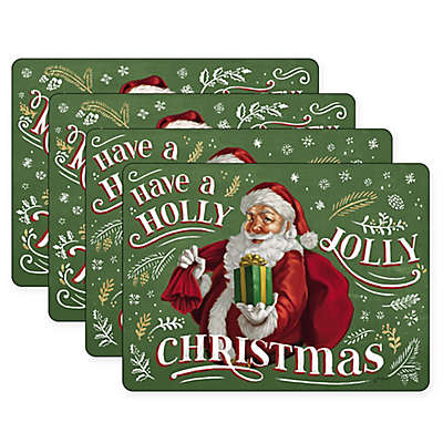 Pimpernel Santa's List Placemats (Set of 4)