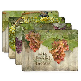 Pimpernel Tuscan Vineyard Placemats (Set of 4)