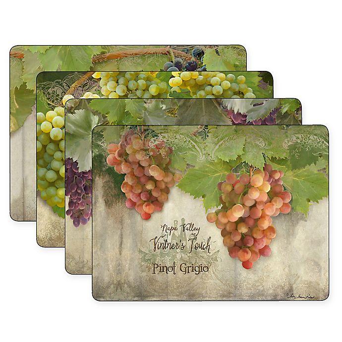 Alternate image 1 for Pimpernel Tuscan Vineyard Placemats (Set of 4)