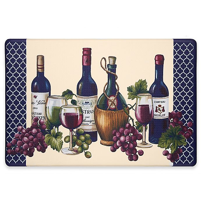 Alternate image 1 for Chateau 30-Inch x 18-Inch Anti-Fatigue Kitchen Floor Mat