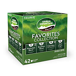 Keurig® K-Cup® Pods 42-Count Green Mountain Coffee® Favorites Variety Pack