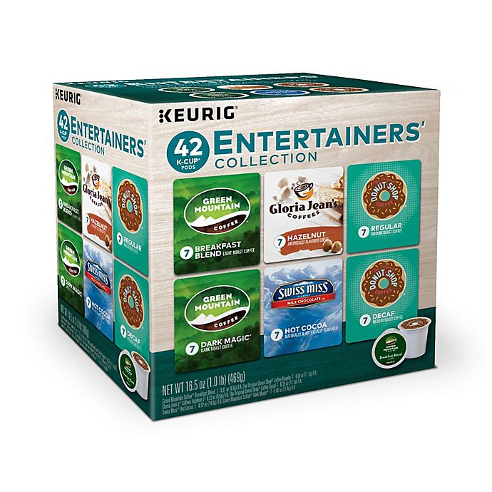 Alternate image 1 for Keurig® K-Cup® Pods 42-Count The Entertainer Variety Pack
