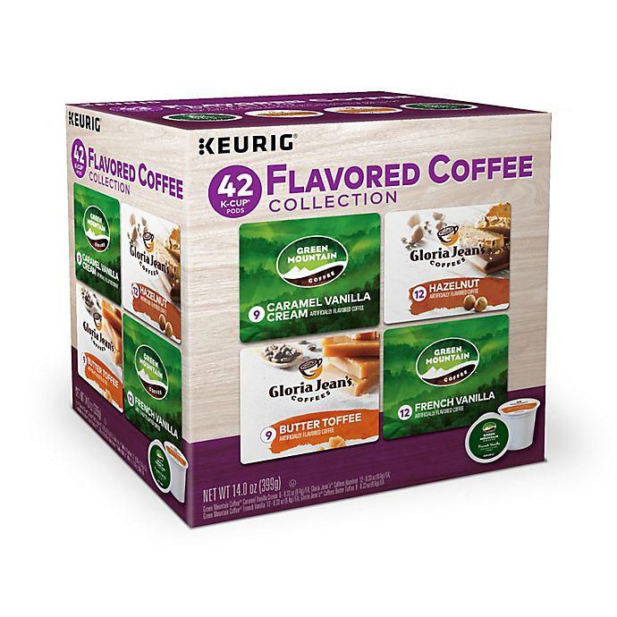 Alternate image 1 for Keurig® K-Cup® Pods 42-Count Flavored Coffee Variety Pack