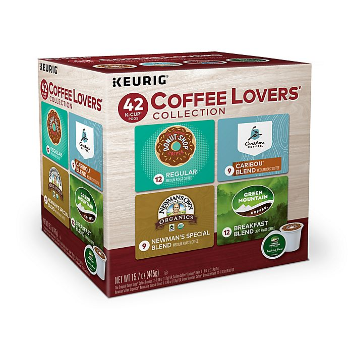 Alternate image 1 for Keurig® K-Cup® Pack 42-Count Coffee Lovers' Variety Pack